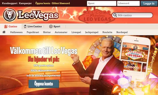 LeoVegas casino - Sveriges bästa mobilcasino?