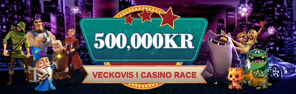 Videoslots veckovisa casinorace