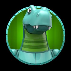 LyckyDino maskot