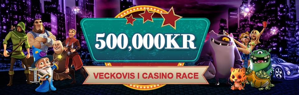 Videoslots veckovisa casinorace